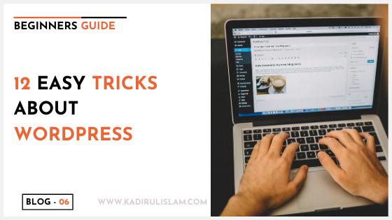 12 Easy Tricks About WordPress
