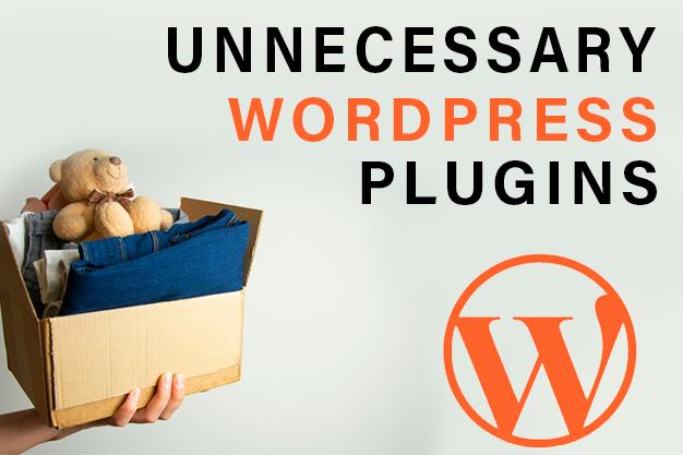 Avoid Unnecessary WordPress Plugins