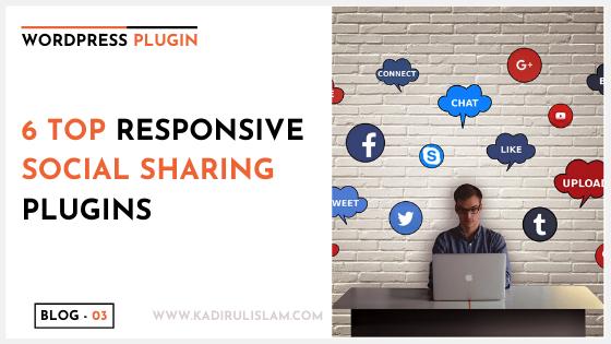 6 Top Responsive Social Sharing Plugins for WordPress – 2020